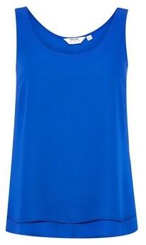 Dorothy Perkins Womens Dp Petite Cobalt Layer Shell Top, Cobalt