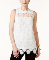 Alfani PRIMA Lace Shell, Created for Macy's