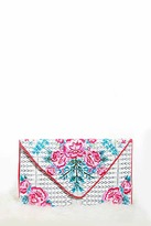 Forever 21 FOREVER 21+ Charade Rose Clutch