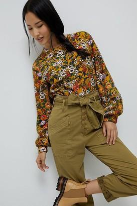 Maeve Gardenia Sweatshirt