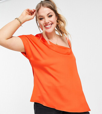 Simply Be asymmetric top in coral