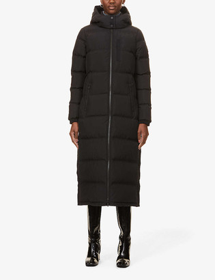 Moose Knuckles Jocada padded shell-down parka coat