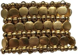 Philippe Audibert Gold Metal Bracelets