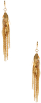 Amrita Singh Leaf Petals Drop Earrings
