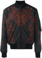 Marcelo Burlon County of Milan abstract print bomber jacket - men - Polyamide/Polyester - M