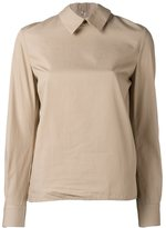 Golden Goose Deluxe Brand back ruffled shirt - women - Cotton - L
