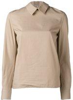 Golden Goose Deluxe Brand back ruffled shirt - women - Cotton - L