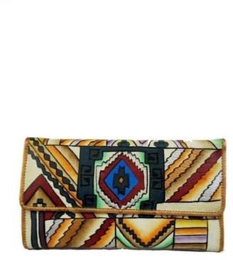 Magnifique Bags Hand-Painted Southwest Wallet