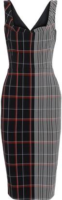 Victoria Beckham Checked Jacquard Dress