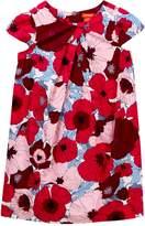 Joe Fresh Allover Print Pleated Dress (Toddler & Little Girls)