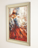 """Horchow """"Dance in Red"""" Giclee"""