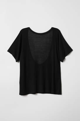 H&M Top with a low-cut back