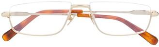 Brioni Rectangle-Frame Glasses
