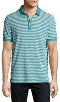 Michael Kors Birdseye Knit Polo Shirt, Blue