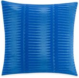 Kas Gabriel Square Throw Pillow in Electric Blue