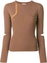 Nina Ricci cut out sleeved jumper