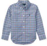 Ralph Lauren Plaid Cotton Poplin Shirt