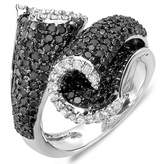 DazzlingRock Collection 3.50 Carat (ctw) 10k White Gold White & Round Diamond Ladies Cocktail Right Hand Ring (Size 8)