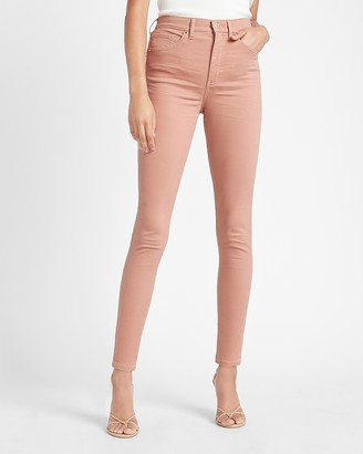 Express High Waisted Five Pocket Skinny Pant