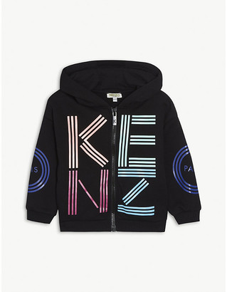 Kenzo Cotton-blend logo hoody 4-14 years