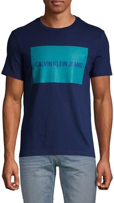 Calvin Klein Jeans Edi Box Logo Cotton Tee