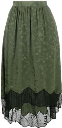Zadig & Voltaire Joslin Jormi flared skirt
