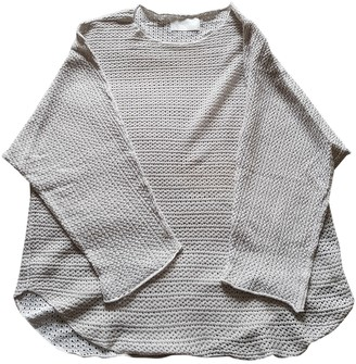 Zadig & Voltaire Silver Cotton Knitwear