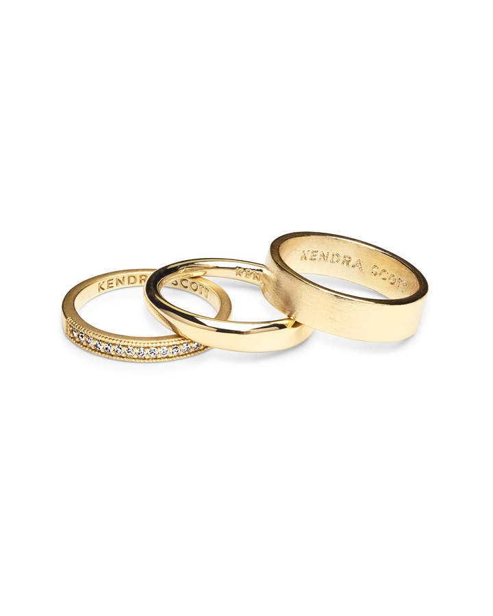 Kendra Scott Tate Midi Ring Set