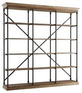 Homelegance Belvidere 5 Shelf Wide Bookcase Black
