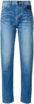 Saint Laurent tapered slim fit jeans - women - Cotton - 25