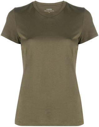 Vince short-sleeve fitted T-shirt