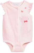First Impressions Geo-Print Cat Cotton Snap-Up Bodysuit, Baby Girls (0-24 months), Only at Macy's