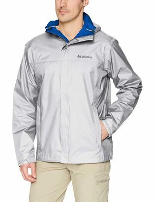 Columbia Men's Watertight II Front-Zip Hooded Rain Jacket Waterproof & Breathable