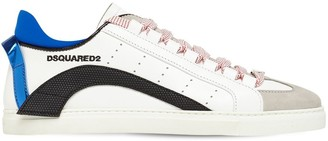 DSQUARED2 New 551 Leather, Rubber & Suede Sneakers