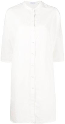 Harris Wharf London buttoned shirt dress