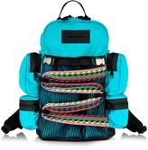 DSQUARED2 Akira Small Turquoise Nylon Backpack