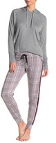 PJ Salvage Cool Class Plaid Print Pants