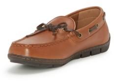 Vince Camuto Mocc Little Boys Classic Driving Slip-On Dress Shoe