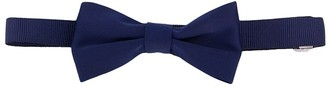TEEN plain ribbed bow tie