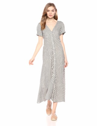 Max Studio Women's Striped Shirting Dress