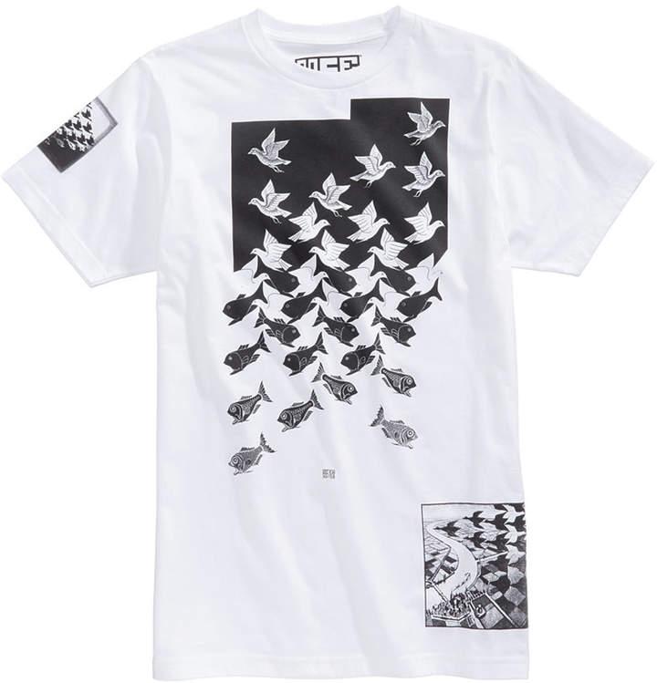 New World Men's Birds and Fish Graphic-Print T-Shirt