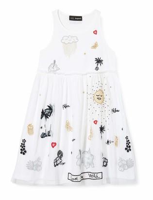 Desigual Girls' Vest_Tuxtla Dress