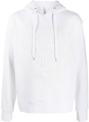 Neil Barrett Logo Crest Hoodie