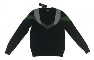 Les Hommes Black Wool Knitwear & Sweatshirts
