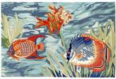 Liora Manné Trans Ocean Imports Ravella Tropical Fish Indoor Outdoor Rug