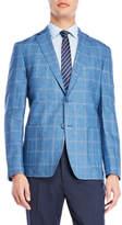 DKNY Light Blue Linen Sport Coat