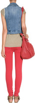 Current/Elliott Red Coral Stiletto Jeans