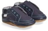 Robeez 'Stylish Steve' Crib Shoe (Baby & Walker)