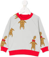 Mini Rodini turtle motif sweater