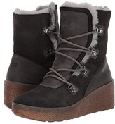 Cougar Dylan Waterproof (Pewter Suede/Shearling) Women's Lace-up Boots